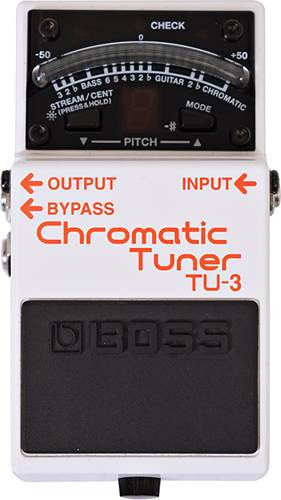BOSS TU-3 Tuner (Ex-Demo) #D9J8868