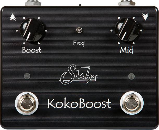Suhr Koko Boost Clean Boost/Mid Boost Pedal