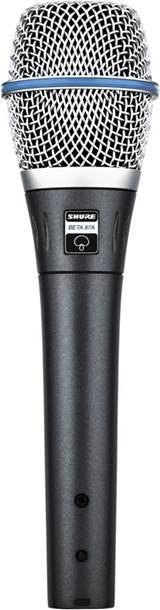 Shure Beta 87A Electret Condenser Vocal Mic