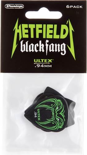 Dunlop James Hetfield Black Fang .94mm 6 Player Pack