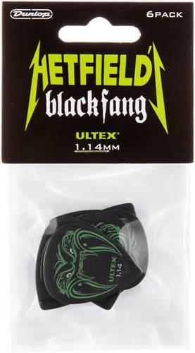 Dunlop James Hetfield Black Fang 1.14mm 6 Player Pack
