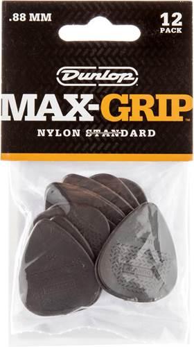 Dunlop Nylon Max Grip Standard .88mm 12 Player Pack