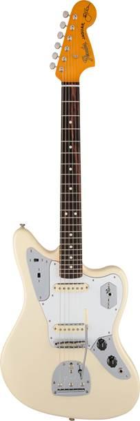 Fender Johnny Marr Jaguar Rosewood Fingerboard Olympic White