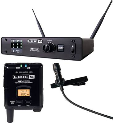 Line 6 XD-V55L Digital Wireless Lavalier Microphone 12 Channel