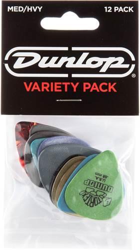 Dunlop PVP102 Variety Pack Medium/Heavy 12 Player Pack
