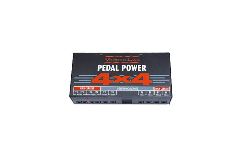 Voodoo Lab Pedal Power 4 X 4
