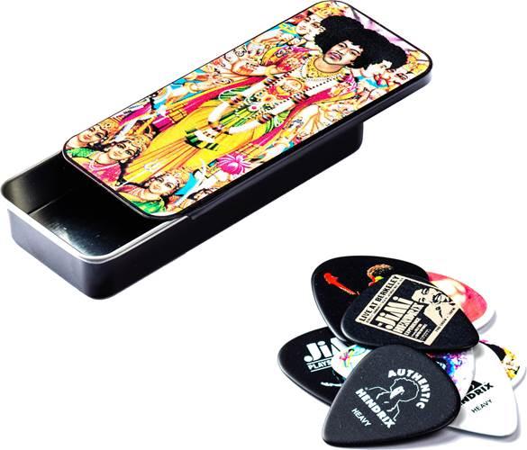 Dunlop JD-JH-PT02M BOLD AS LOVE Jimi Hendrix Pick Tin