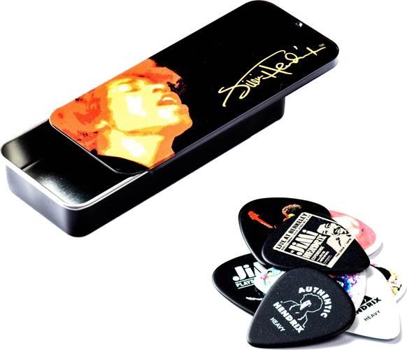 Dunlop JD-JH-PT03H ELECTRIC LADY  Jimi Hendrix Pick Tin