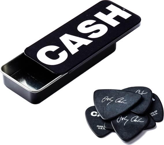 Dunlop JD-JCPT04H Johnny Cash Bold Heavy Pick Tin