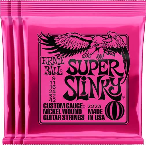 Ernie Ball 3223 Super Slinky 9-42 3 Pack