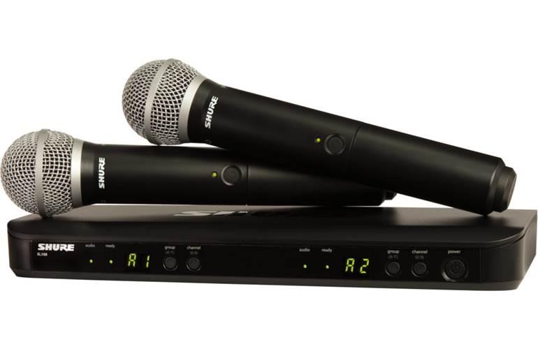 Shure BLX288UK/PG58 Dual Vocal System