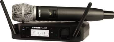 Shure GLXD24UK/SM86 Digital SM86 Vocal System
