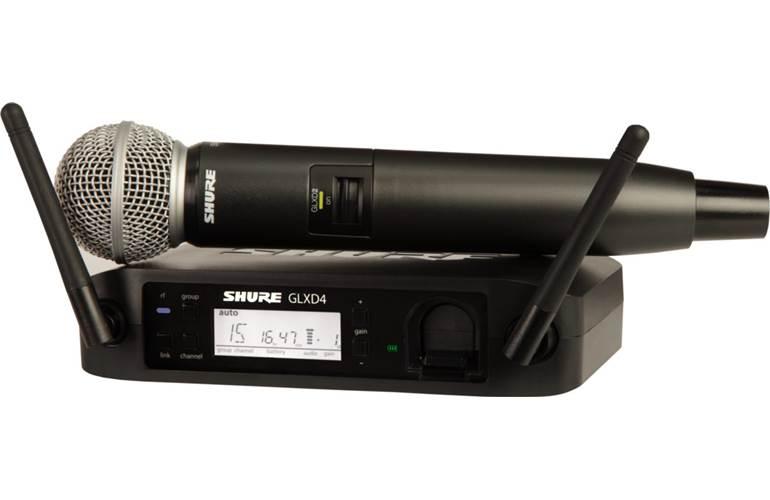 Shure GLXD24UK/SM58 Digital SM58 Vocal Wireless System