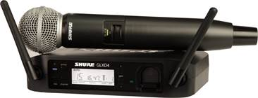 Shure GLXD24UK/SM58 Digital SM58 Vocal Wireless System