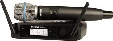 Shure GLXD24UK/B87A Digital Beta 87A Vocal System