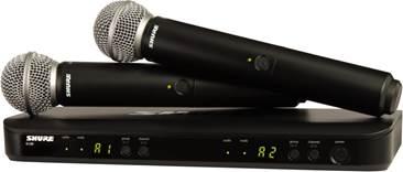 Shure BLX288UK/SM58 Dual SM58 Handheld Wireless System