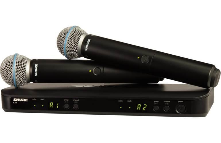 Shure BLX288UK/B58 Dual Beta 58 Handheld System