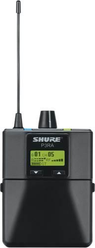 Shure P3RA Premium Metal Wireless Bodypack Receiver