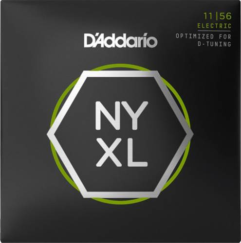 D'Addario NYXL1156 Medium Top/Extra Heavy Bottom 11-56