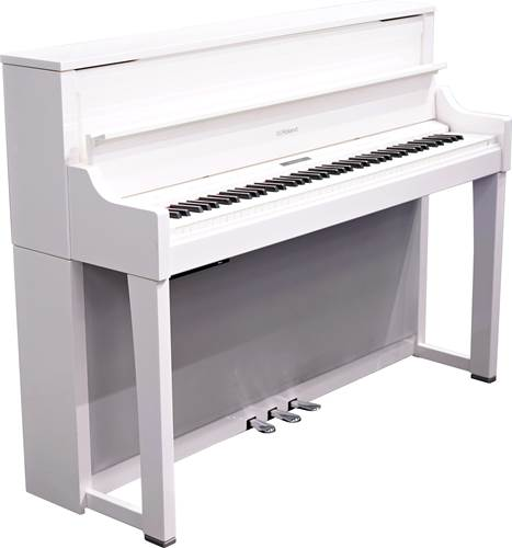 Roland LX-17PW Polished White Digital Piano (Ex-Demo) #Z2G0267