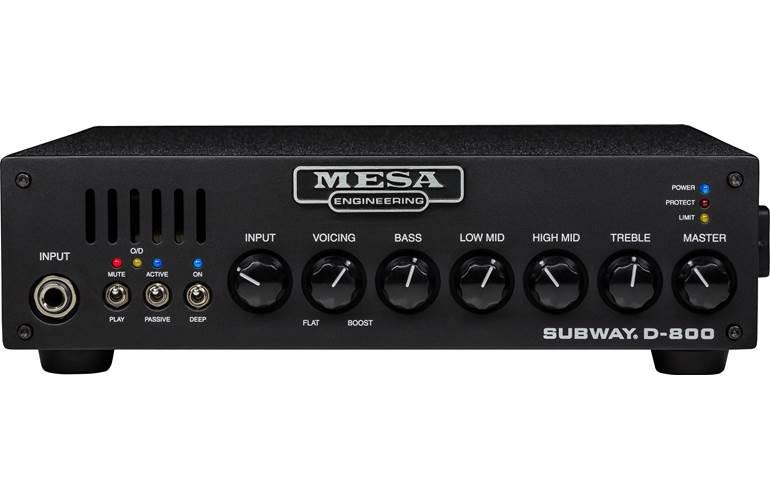 Mesa Boogie Subway D-800 Compact Bass Head