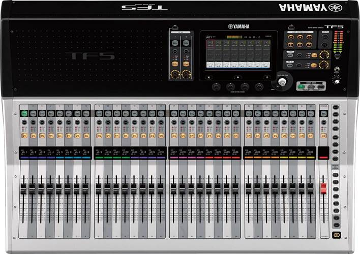Yamaha TF5 32 Channel Digital Mixing Desk (Ex-Demo) #BCV01004