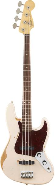 Fender Flea Signature Jazz Bass RW Roadworn Shell Pink
