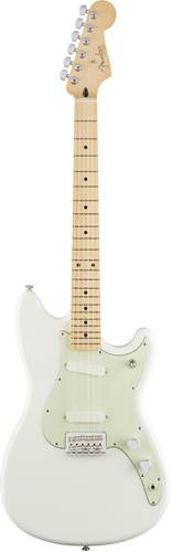 Fender Offset Duo Sonic SS Aged White MN