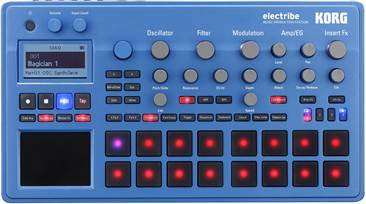 Korg Electribe EMX2-BL Blue Synth (Ex-Demo) #00019276