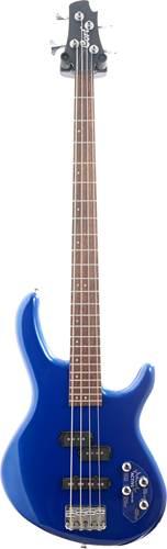 Cort Action Plus 4 String Bass Blue Metallic