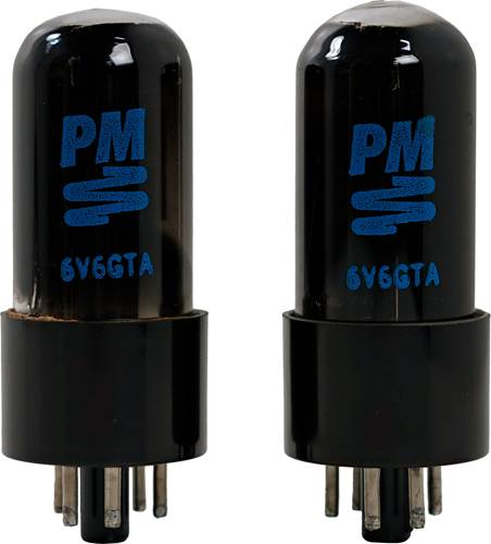 PM Components Pair of 6V6GT Power Tubes