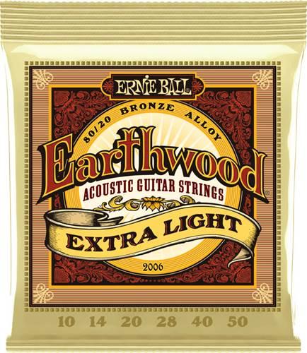 Ernie Ball 2006 Earthwood 80/20 Bronze Extra Light Guitar Strings