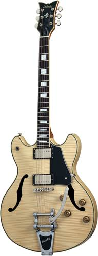 Schecter Corsair Custom with Bigsby Natural Pearl