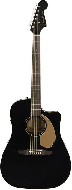 Fender California Series Redondo Player Jetty Black