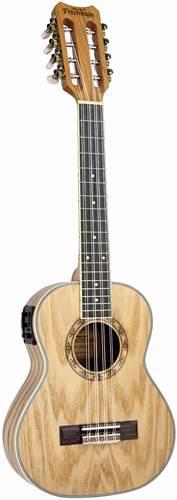 Freshman Tenor Electro Acoustic Ukulele All Ash 8 String
