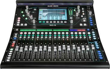 Allen & Heath SQ-5 Digital Mixer (Ex-Demo) #763677