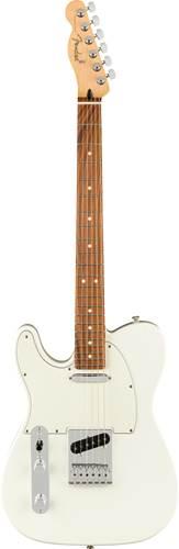 Fender Player Telecaster Polar White Pau Ferro Fingerboard Left Handed