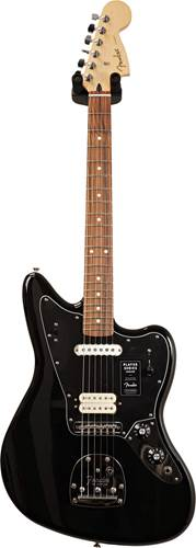 Fender Player Jaguar Black PF  (Ex-Demo) #MX19112386