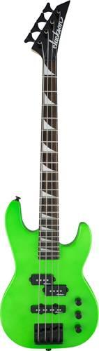 Jackson JS1X CB Minion Short Scale Bass Neon Green