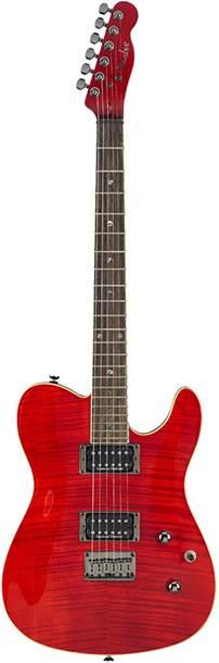 Fender Custom Telecaster FMT HH Crimson Red Indian Laurel Fingerboard