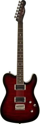 Fender Custom Tele FMT HH Black Cherry Burst IL
