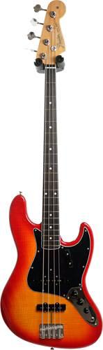 Fender Rarities Flame Ash Top Jazz Bass Plasma Red Burst