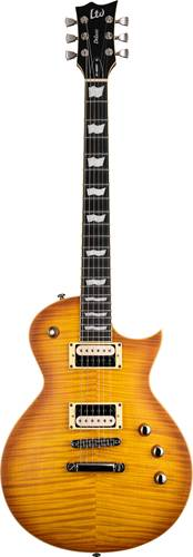 ESP LTD EC-1000TFM Honey Burst Satin
