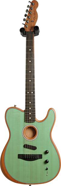 Fender Acoustasonic Telecaster Trans Surf Green (Ex-Demo) #US200705