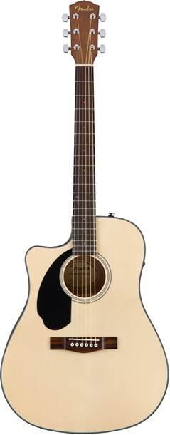 Fender CD-60SCE Natural Left Handed Walnut Fingerboard