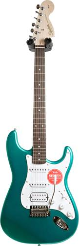 Squier Affinity Series Stratocaster HSS Race Green Laurel Fingerboard