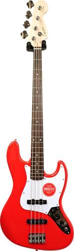 Squier Affinity Jazz Bass Race Car Red Laurel Fingerboard