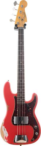 Fender Custom Shop 1959 P-Bass Heavy Relic Fiesta Red RW Master Builder Designed by Jason Smith #R100601