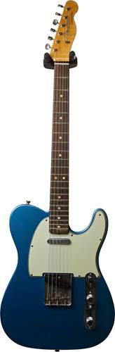 Fender Custom Shop 1963 Tele Journeyman Relic Lake Placid Blue RW Master Builder Designed by Paul Waller #R100549