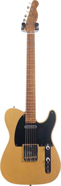 Fender Custom Shop 1953 Telecaster Journeyman Relic Butterscotch Blonde Maple Fingerboard Master Builder Designed by Paul Waller #R103198